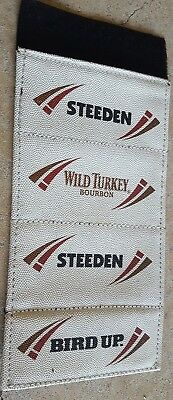 Wild turkey and steeden stubby cooler brand new