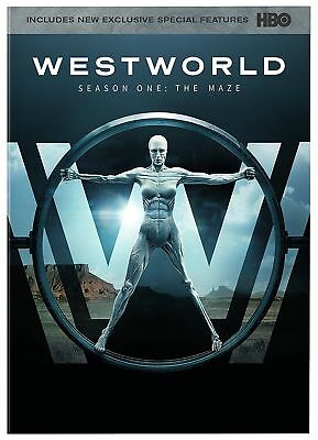Westworld: The Complete First Season 1 (DVD, 2017, 3-Disc Set)  New.