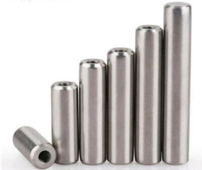 Stainless Steel Ø4mm 5mm 6mm 8mm 10mm - Ø25mm Threaded Dowel Pin Rod #Q4392 ZX