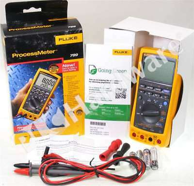 New Fluke 789 ProcessMeter Multimeter Loop Calibrator Lead Set