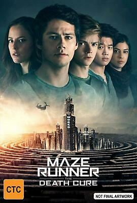 Maze Runner - Death Cure, The - DVD Region 4 Free Shipping!