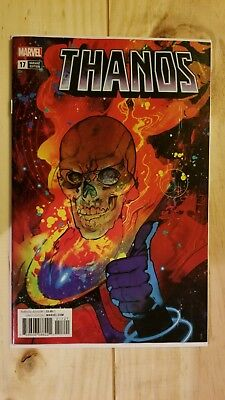 Thanos #17 Ward Variant Cover Cosmic Ghost Rider Silver Surfer Sold Out Cates 1