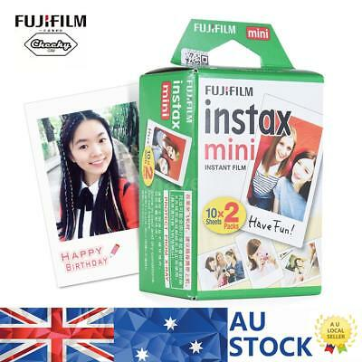 20 Sheets Fujifilm Instax Mini Film Fuji instant Photos 7s 8 25 90 Polaroid 300