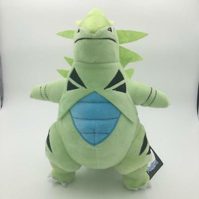"Pokemon Center Plushie Tyranitar Plush Doll Figure Stuffed Animal Toy 12"" Gift"
