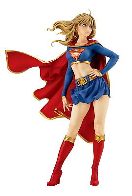 DC Comics Supergirl Returns Kara Zor-el Bishoujo Figure Statue By Kotobukiya