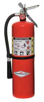 Fire Extinguisher, 10 lb. Capacity, Dry Chemical, B456, Amerex