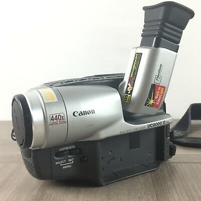 A réparer Doesn't Work Camera Camescope Canon UC8000 Hi8 8mm Pal Video Recorder