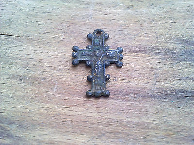 Ancient Roman Bronze Cross - 2.6g