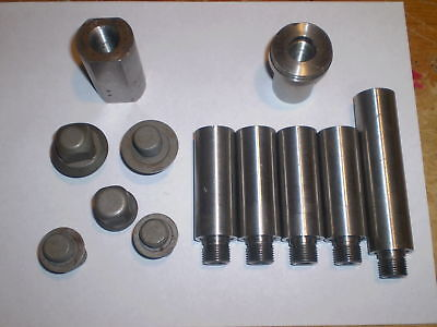 Lot Of 12 Pc For Plastic Extrusion Tooling