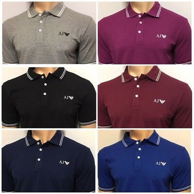 Armani Jeans Short Sleeve Polo Shirt For Men - S M L Xl Xxl