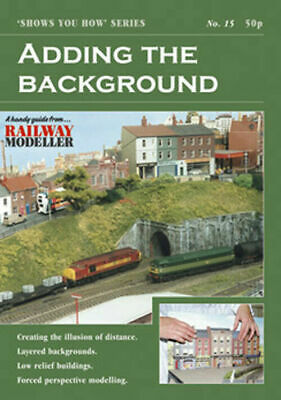 Peco No 15 Adding the Background Model Railway Booklet SYH15