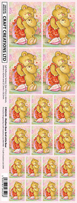 Creation Stickers Mum & Baby Bear  For Cards & Craft