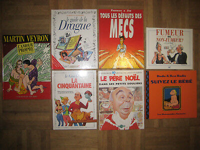#1 Lot 7 BD Bande Dessinée Guide de la Drague Cinquantaine Humour Vents d'Ouest