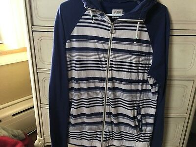 Hause of Howe King I Am Gingham Hoodie M Insignia Blue