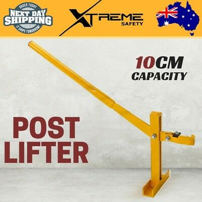 New 10cm Fence Post Lifter Puller Remover Star Picket Steel Pole Tool BAUMR-AG