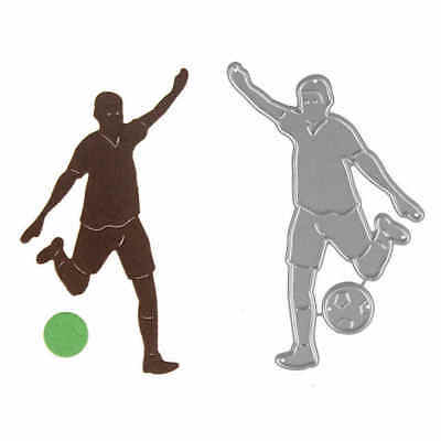 1pc Play Football Metal Cutting Dies For DIY Scrapbooking Album Paper Cards FO