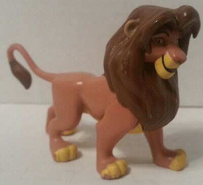 Disney Store Authentic SIMBA LION KING FIGURINE Cake TOPPER Toy GUARD