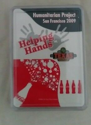 Helping Hands Humanitarian Project 2009 sponsored by Coke Coca cola playing card