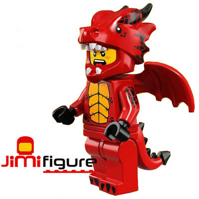 NEW LEGO Minifigures Dragon Suit Guy Series 18 71021 Party Genuine Sealed Figure