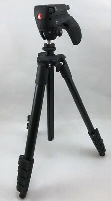 "Manfrotto - 65"" Compact Action Tripod - Black"