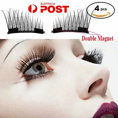 Magnetic Eyelashes 3D Handmade Mink Reusable False Magnet Eye Lashes extension G