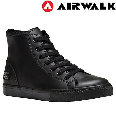 AIRWALK Extreme 2 High Top Soft Leather Shoe Sneakers Flat Lace Up Shoes