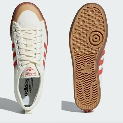 39e1134dfb6 Adidas Originals Nizza Shoes Athletic Sneaker WHITE   RED   WHITE CQ2326  SZ4-9