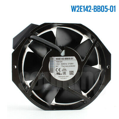 For Ebmpapst W2E142-BB05-01 115V 27/28W High Temperature Cooling Fan