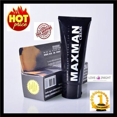 Maxman Delay Cream For Men / 60g Long Lasting Pleasure / LOVE 2NIGHT