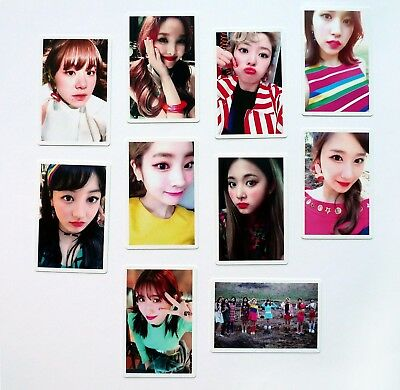 TWICE 4th Mini Album Signal Pre Order Benefit Official Photocard Full Set 9pcs