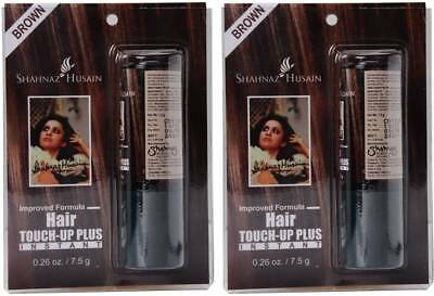 ddda28bf14fb8 SHAHNAZ HUSAIN TOUCH Up Plus Pack of 2 Hair Color (Brown) - £36.99 ...
