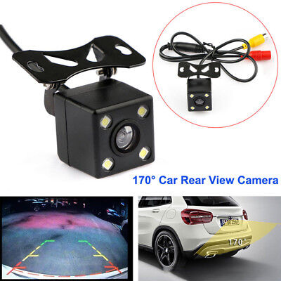Parking Assistance Car Rear View Camera CCD+LED Backup170 degree Waterproof