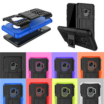 2 in 1 Heavy Duty Hybrid ShockProof Stand Case Cover For Lot Samsung Galaxy