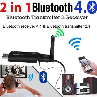 USB Bluetooth4.0 Wireless A2DP Audio Transmitter Stereo Adapter for TV PC LOT P6