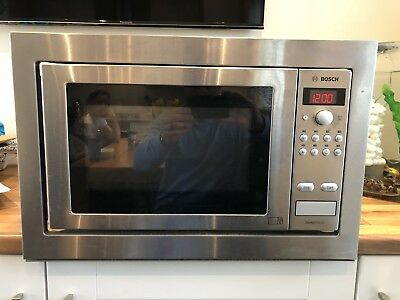 Used Bosch Built In Microwave Oven