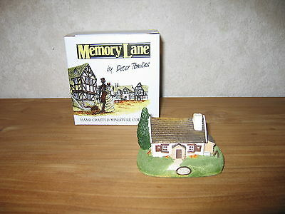MEMORY LANE *NEW* Maison Cottage Pine Cottage 6x10cm