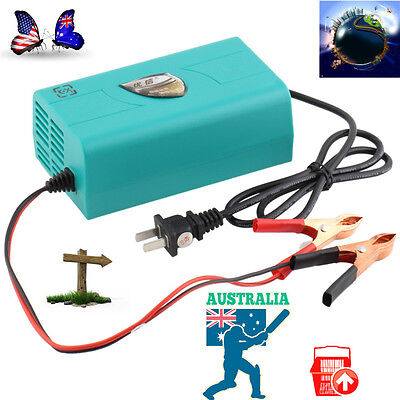 12V Battery Automatic Charger Motorcycle Car Boat Marine Maintainer Trickle OW