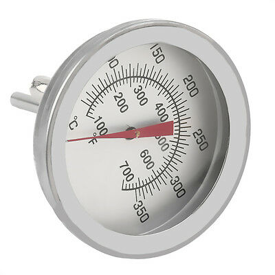 Stainless Steel Cooking Oven Thermometer Probe Thermometer Food Meat Gauge XRAU&
