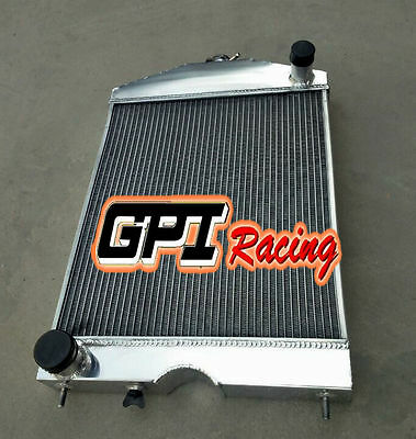 56mm FOR Ford 2N/8N/9N tractor w/ford 305 5L V8 engine 28-52 aluminum  radiator