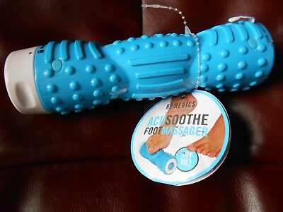 HoMedics Acusoothe Vibration Foot Roller Massage Battery included
