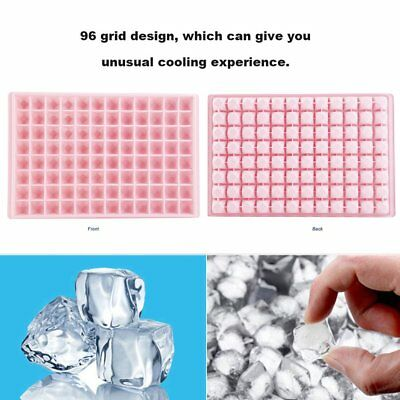 PP Large 96-grid Ice Cube Tray/ Large Ice Box /Mould For Making Desse GT