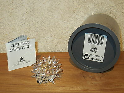 SWAROVSKI *NEW* Hérisson moyen Medium Hedgehog 013265 L.5,4cm