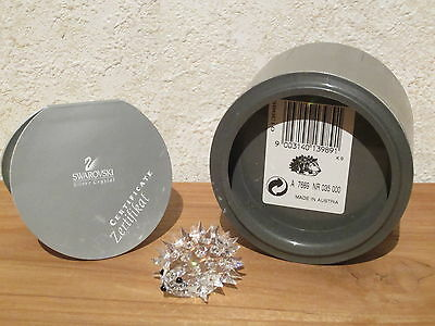 SWAROVSKI *NEW* Hérisson petit Small Hedgehog 013989 L.3,8cm