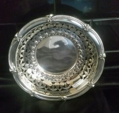 Sterling Silver Plated Fruit Bowl