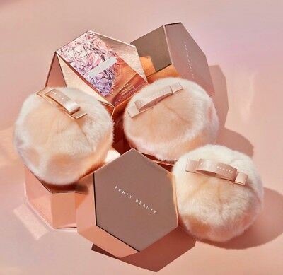 Authentic Fenty Beauty Fairy Bomb Glitter Highlight Pom Pom Puff Limited Edition