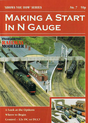 Peco No 7 Making a Start in N Gauge Model Railway Booklet SYH07