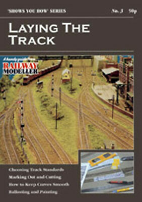 Peco No 3 Laying the Track Model Railway Booklet SYH03