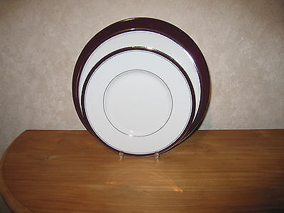 PHILIPPE DESHOULIERES *NEW* EXCELLENCE Prune 6997 Set 4 Assiettes - Set 4 plates