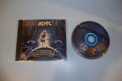 Ballbreaker by AC/DC (CD, Sep-1995, EastWest) Promo Stamp