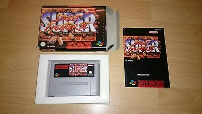 Snes Super Streetfighter 2 CIB OVP TOP